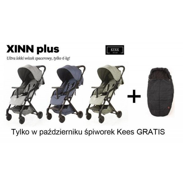 Wózek spacerowy  XINN Plus KEKK by Kees
