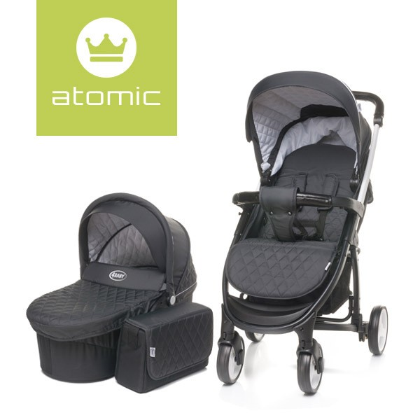 Wózek Atomic XVII 2w1 Dark Grey
